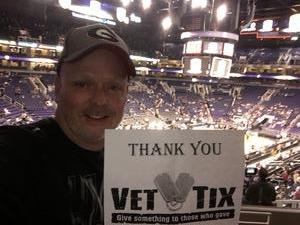 Randall attended Phoenix Suns vs. Atlanta Hawks - NBA on Jan 2nd 2018 via VetTix