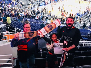 Michael attended Phoenix Suns vs. Atlanta Hawks - NBA on Jan 2nd 2018 via VetTix