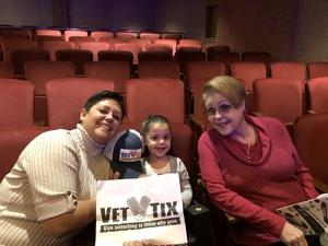 Elizabeth attended Peter Pan and Tinker Bell: a Pirate's Christmas on Dec 24th 2017 via VetTix
