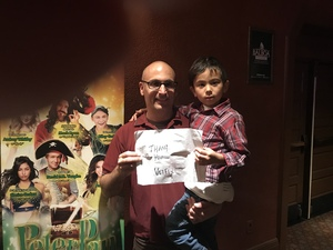 James attended Peter Pan and Tinker Bell: a Pirate's Christmas on Dec 24th 2017 via VetTix