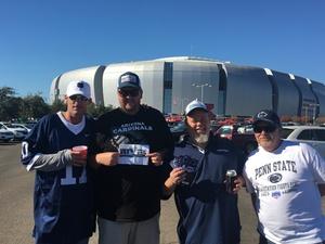 Click To Read More Feedback from Playstation Fiesta Bowl - Washington Huskies vs. Penn State Nittany Lions - NCAA Football