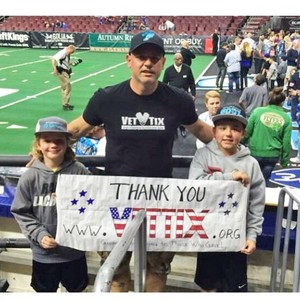 Fernando attended Playstation Fiesta Bowl - Washington Huskies vs. Penn State Nittany Lions - NCAA Football on Dec 30th 2017 via VetTix