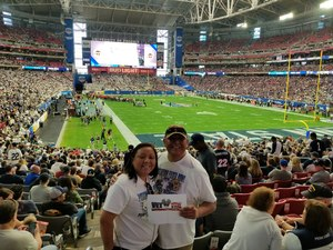 Shawn Brown attended Playstation Fiesta Bowl - Washington Huskies vs. Penn State Nittany Lions - NCAA Football on Dec 30th 2017 via VetTix