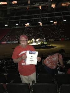 Larry attended PBR Built Ford Tough Series vs. PBR Professional Bull Riders - Friday on Mar 23rd 2018 via VetTix