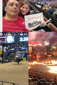 Jack attended PBR Built Ford Tough Series vs. PBR Professional Bull Riders - Friday on Mar 23rd 2018 via VetTix