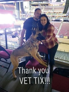 Enrique attended PBR Built Ford Tough Series vs. PBR Professional Bull Riders - Friday on Mar 23rd 2018 via VetTix