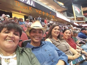 Carolyn C attended PBR Built Ford Tough Series vs. PBR Professional Bull Riders - Friday on Mar 23rd 2018 via VetTix