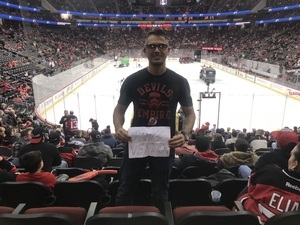 Rommell attended New Jersey Devils vs. Calgary Flames - NHL on Feb 8th 2018 via VetTix
