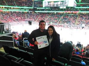 ricardo attended New Jersey Devils vs. Calgary Flames - NHL on Feb 8th 2018 via VetTix