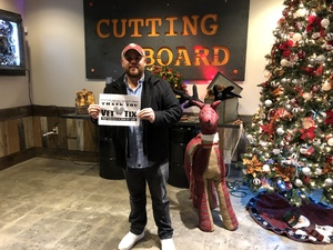 David attended Cutting Board Comedy Show - New Year's Eve Weekend on Dec 29th 2017 via VetTix