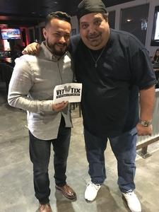 Jose M. attended Cutting Board Comedy Show - New Year's Eve Weekend on Dec 29th 2017 via VetTix