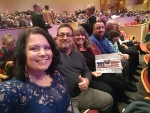 Roger attended New Years Eve Celebration With Phoenix Symphony on Dec 31st 2017 via VetTix