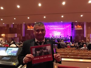 Arnel attended New Years Eve Celebration With Phoenix Symphony on Dec 31st 2017 via VetTix