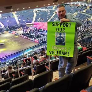 William Lounsbery attended PBR Monster Energy Buck Off at the Garden - Saturday Only on Jan 6th 2018 via VetTix
