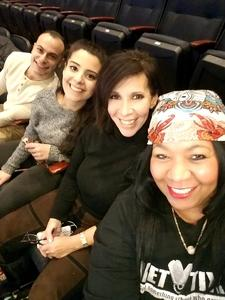 Alicia Figueras-Lambert attended PBR Monster Energy Buck Off at the Garden - Saturday Only on Jan 6th 2018 via VetTix