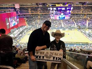Adam attended PBR Monster Energy Buck Off at the Garden - Saturday Only on Jan 6th 2018 via VetTix