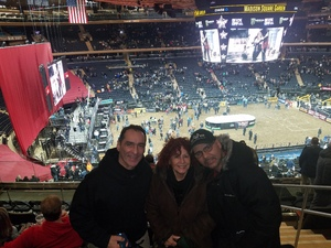Juan attended PBR Monster Energy Buck Off at the Garden - Saturday Only on Jan 6th 2018 via VetTix