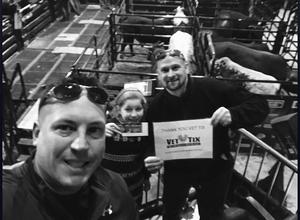 CARMINE attended PBR Monster Energy Buck Off at the Garden - Sunday Only on Jan 7th 2018 via VetTix