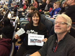CindyEW attended PBR Monster Energy Buck Off at the Garden - Sunday Only on Jan 7th 2018 via VetTix