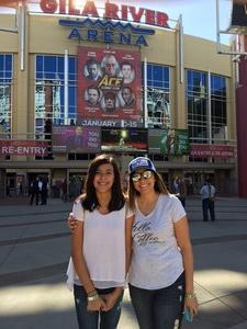 Jessica attended Ace Comic Con at Gila River Arena (tickets Only Good for Monday, January 15th) on Jan 15th 2018 via VetTix