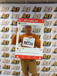 Richard attended Ace Comic Con at Gila River Arena (tickets Only Good for Monday, January 15th) on Jan 15th 2018 via VetTix