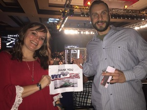 Joseph attended Lfa 32 - Allen vs. Hernandez - 21 and Over - Live Mixed Martial Arts - Presented by Legacy Fighting Alliance on Jan 26th 2018 via VetTix