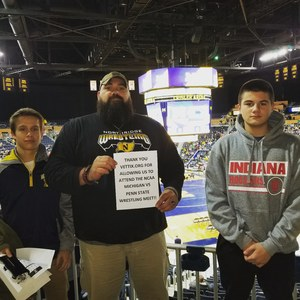Robert attended University of Michigan vs. Penn State - NCAA Wrestling on Jan 12th 2018 via VetTix