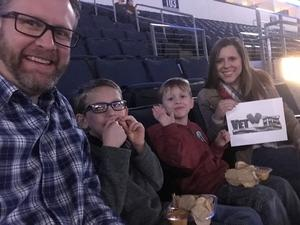 Brandon attended Allen Americans vs. Wichita Thunder - ECHL on Jan 26th 2018 via VetTix