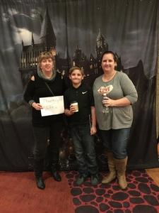 Peggy attended Harry Potter and the Chamber of Secrets in Concert - Saturday Evening on Jan 6th 2018 via VetTix