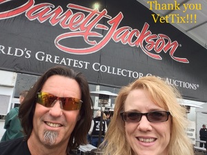 Clint ~ ABF attended Barrett Jackson - the Worlds Greatest Collector Car Auctions - Saturday Jan 20th Only on Jan 20th 2018 via VetTix