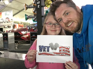 Mike K attended Barrett Jackson - the Worlds Greatest Collector Car Auctions - Saturday Jan 20th Only on Jan 20th 2018 via VetTix