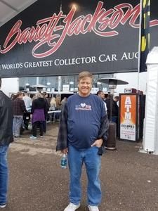 Jerry attended Barrett Jackson - the Worlds Greatest Collector Car Auctions - Saturday Jan 20th Only on Jan 20th 2018 via VetTix