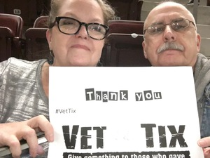 David attended Katy Perry: Witness the Tour on Jan 12th 2018 via VetTix