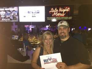 Chuck attended Quiet Riot on Feb 9th 2018 via VetTix