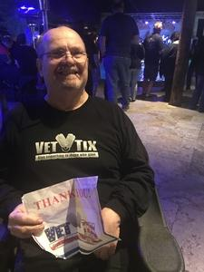 Bradley attended Quiet Riot on Feb 9th 2018 via VetTix
