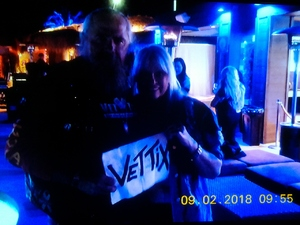 Larrie attended Quiet Riot on Feb 9th 2018 via VetTix