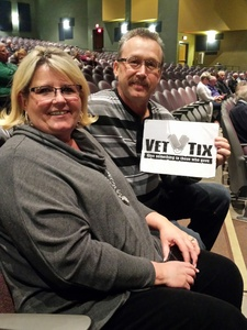 albert attended The Hillbenders Present the Who's Tommy - a Bluegrass Opry on Jan 20th 2018 via VetTix
