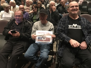 Bradley attended The Hillbenders Present the Who's Tommy - a Bluegrass Opry on Jan 20th 2018 via VetTix