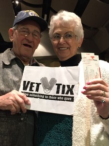 Thomas attended The Hillbenders Present the Who's Tommy - a Bluegrass Opry on Jan 20th 2018 via VetTix