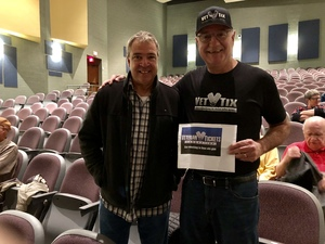 Paul attended The Hillbenders Present the Who's Tommy - a Bluegrass Opry on Jan 20th 2018 via VetTix