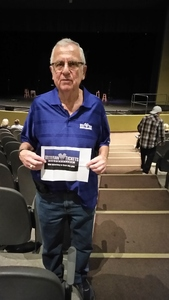 Allen attended The Hillbenders Present the Who's Tommy - a Bluegrass Opry on Jan 20th 2018 via VetTix