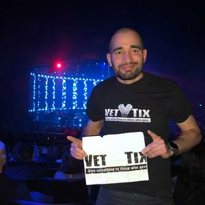 Edwin attended Pitbull - Time of Our Lives on Jan 24th 2018 via VetTix