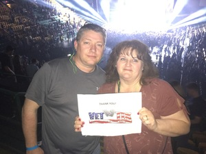 Rob attended Brantley Gilbert: the One's That Like Me Tour on Feb 15th 2018 via VetTix