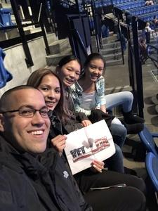 Espirito attended Walk the Moon - Press Restart Tour on Jan 20th 2018 via VetTix