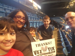 Eric attended Walk the Moon - Press Restart Tour on Jan 20th 2018 via VetTix
