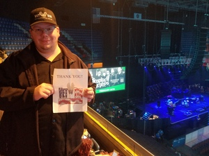 Brian attended Walk the Moon - Press Restart Tour on Jan 20th 2018 via VetTix