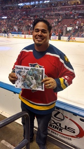 Ingrid Rios attended Florida Panthers vs. Calgary Flames - NHL on Jan 12th 2018 via VetTix