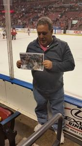 Stephen attended Florida Panthers vs. Calgary Flames - NHL on Jan 12th 2018 via VetTix