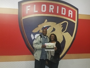 CPT Wilson attended Florida Panthers vs. Calgary Flames - NHL on Jan 12th 2018 via VetTix