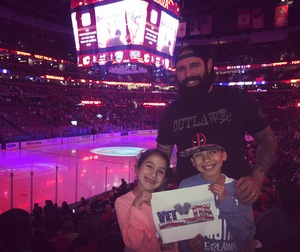 Nathan attended Florida Panthers vs. Calgary Flames - NHL on Jan 12th 2018 via VetTix
